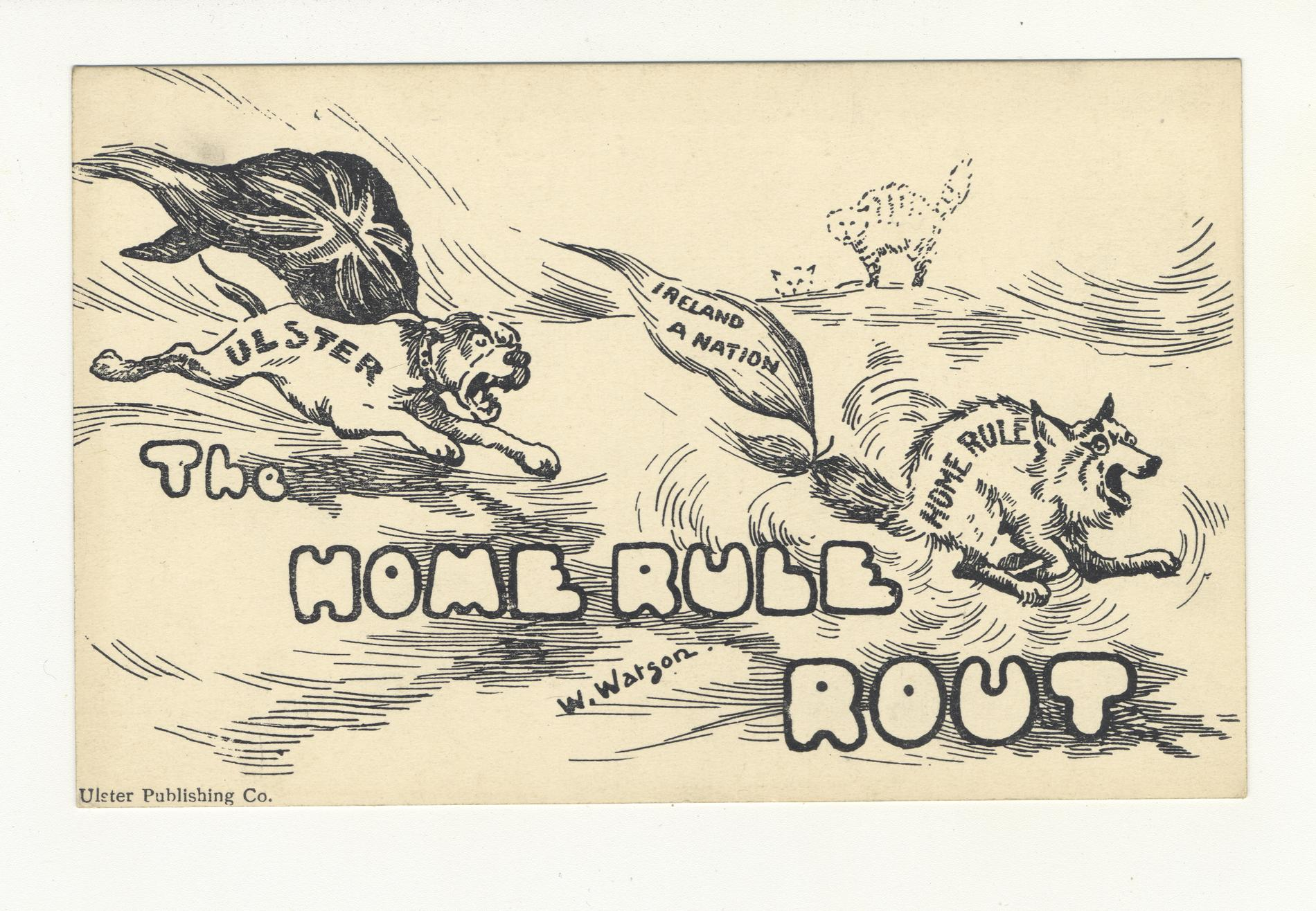 The Home Rule Rout (Postcard)