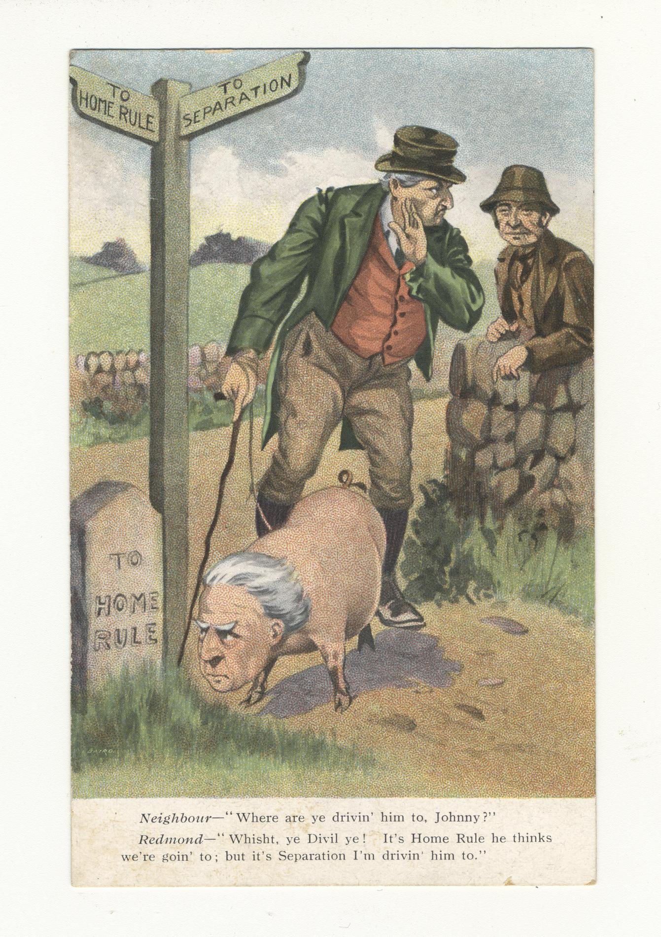 To Home Rule (Postcard)