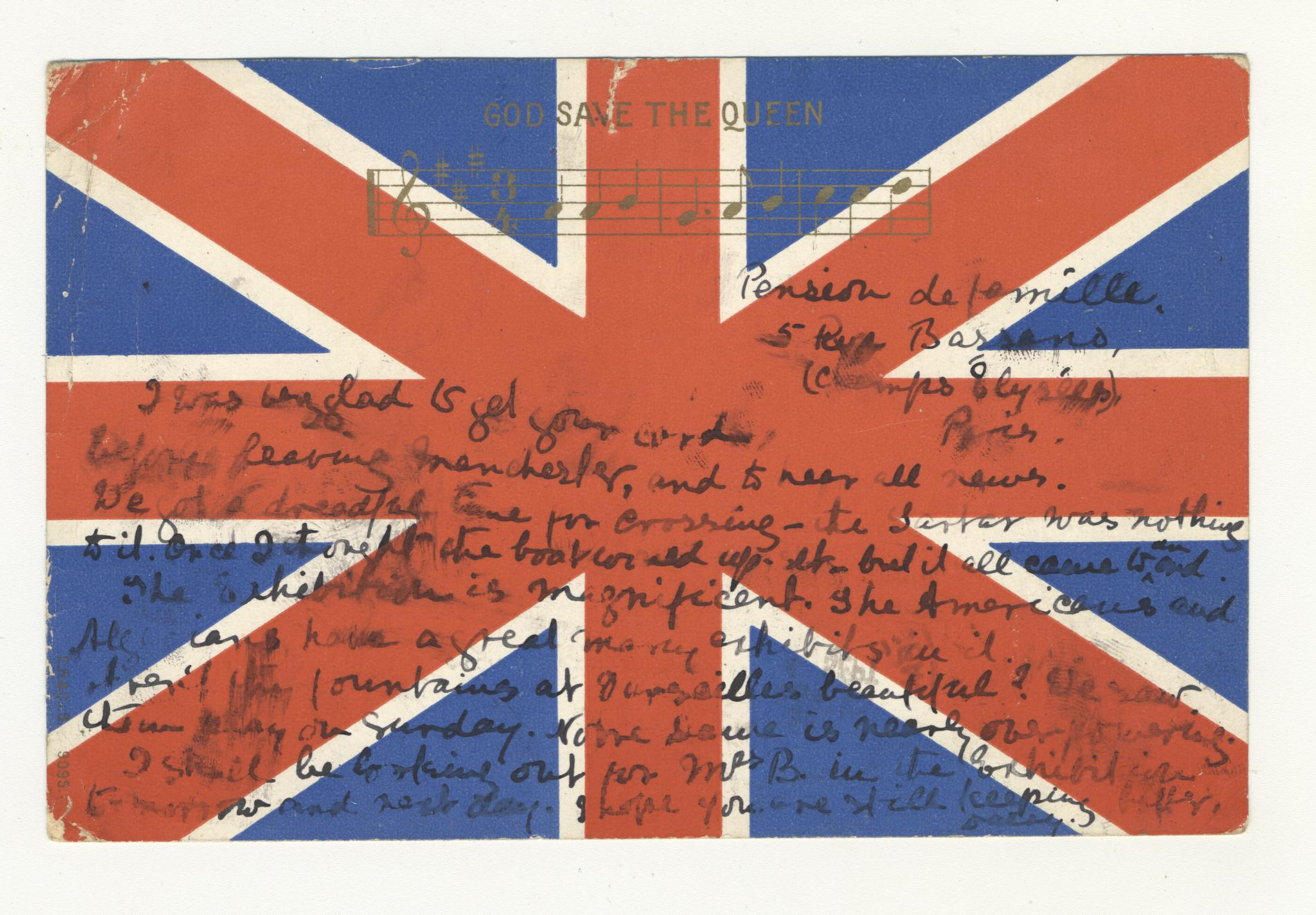 God Save the Queen (Postcard)