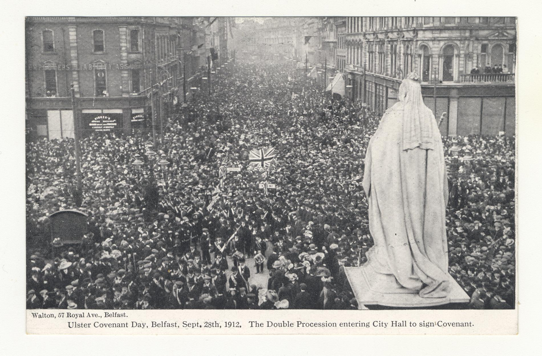 Ulster Covenant Day Belfast Sept. 28th 1912 (Postcard)