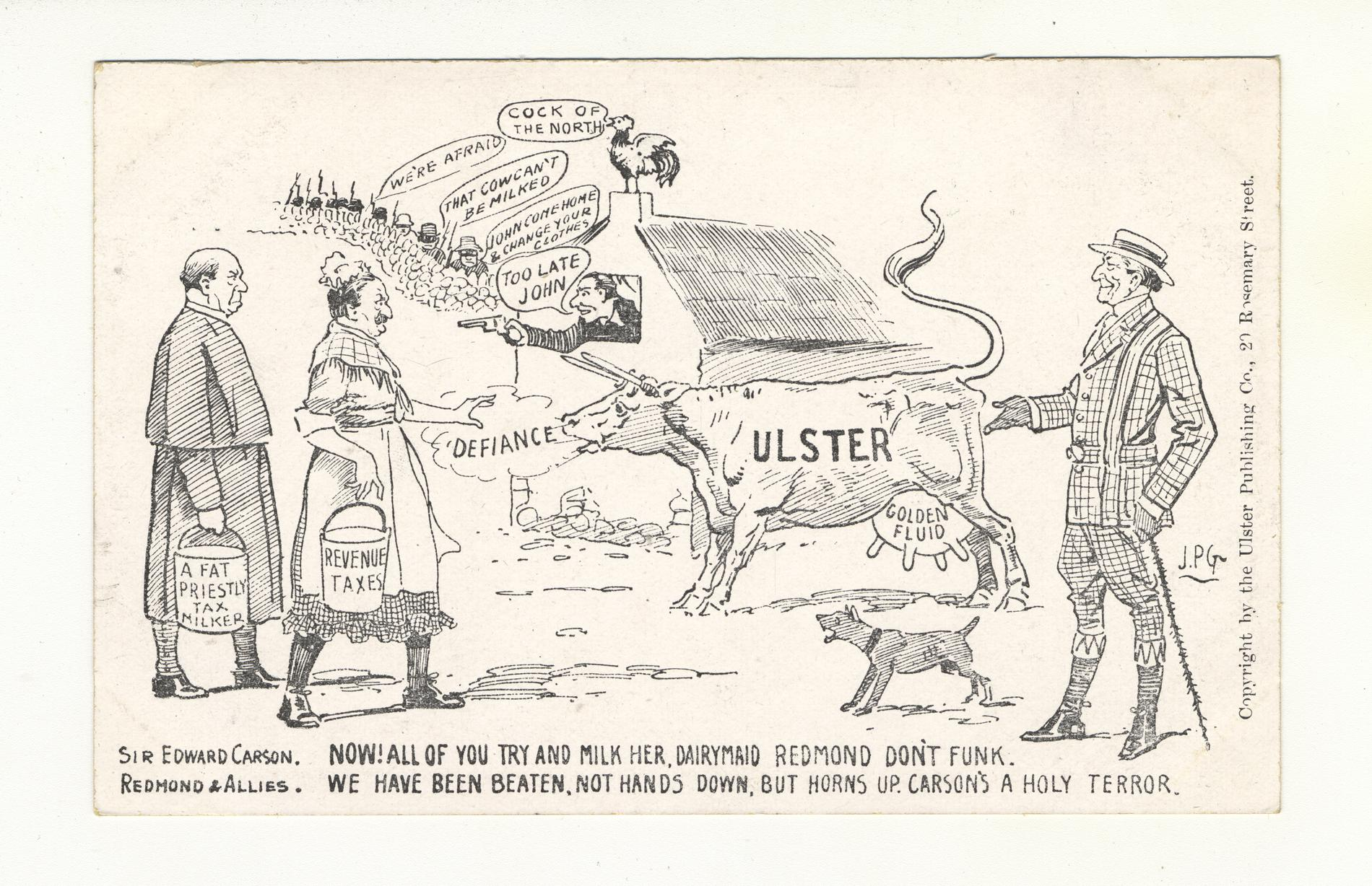 Ulster Cow (Postcard)