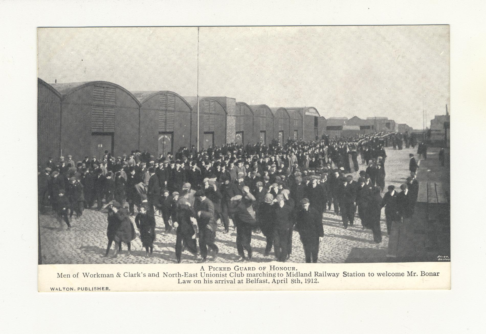 A Picked Guard of Honour (Postcard)