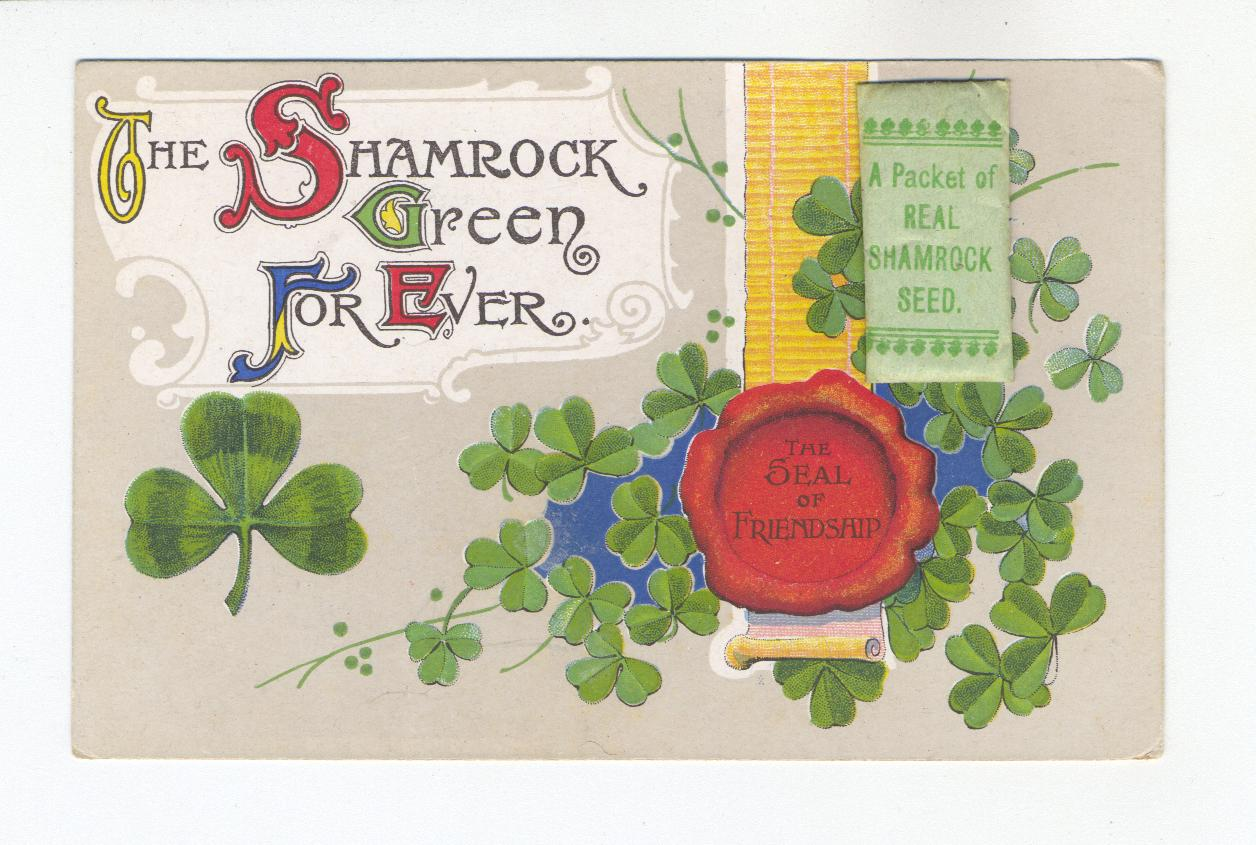The Shamrock Green For Ever (Postcard)
