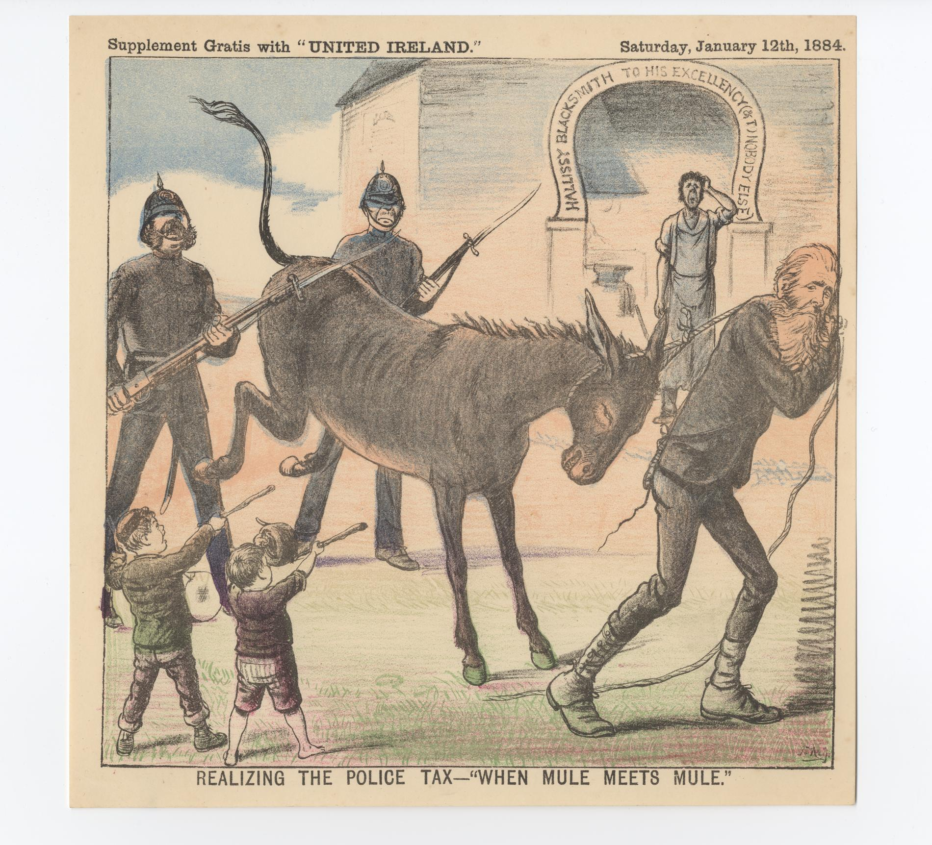 Realizing the Police Tax - When Mule met Mule (Poster)