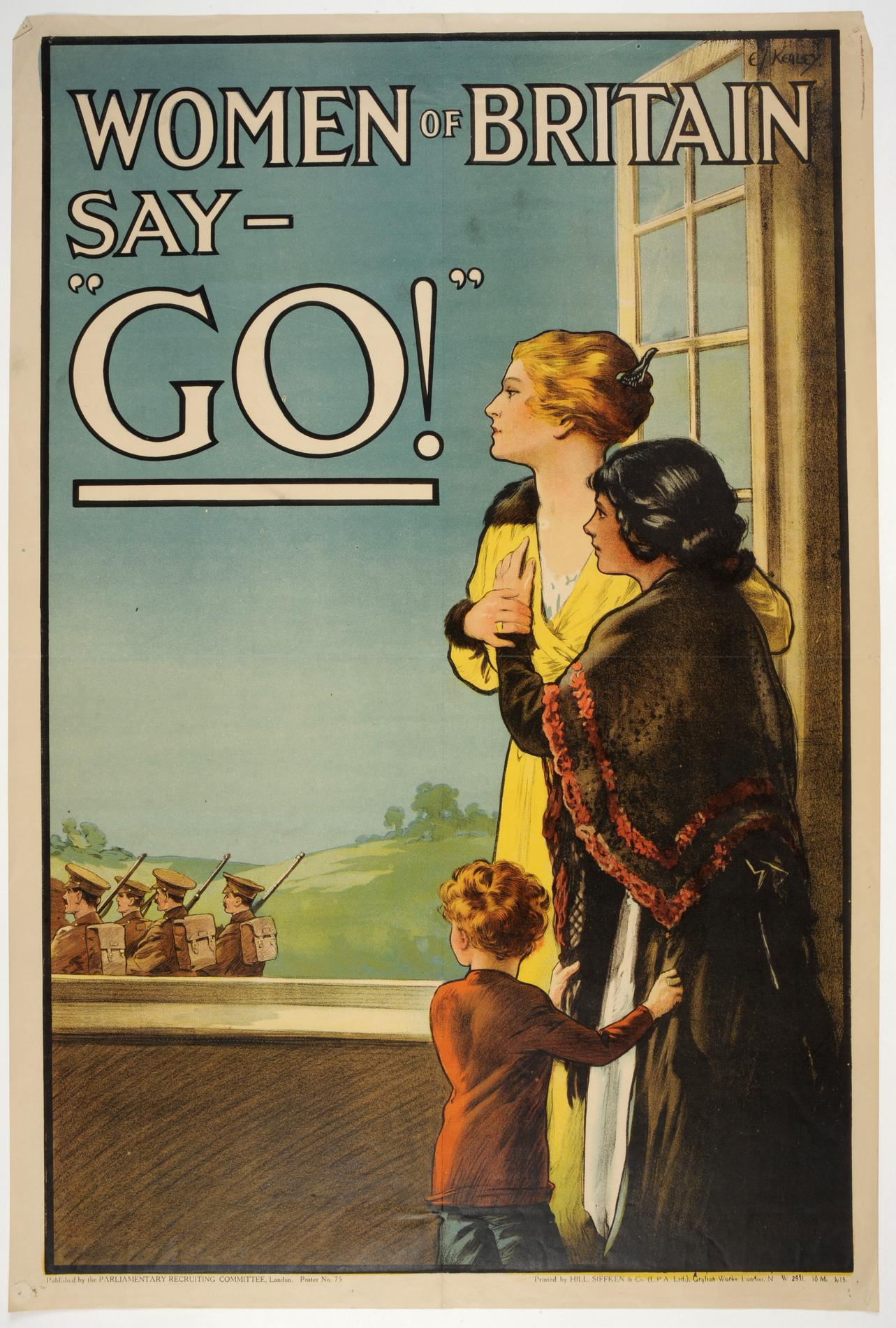Women in Britain say go! (Poster)