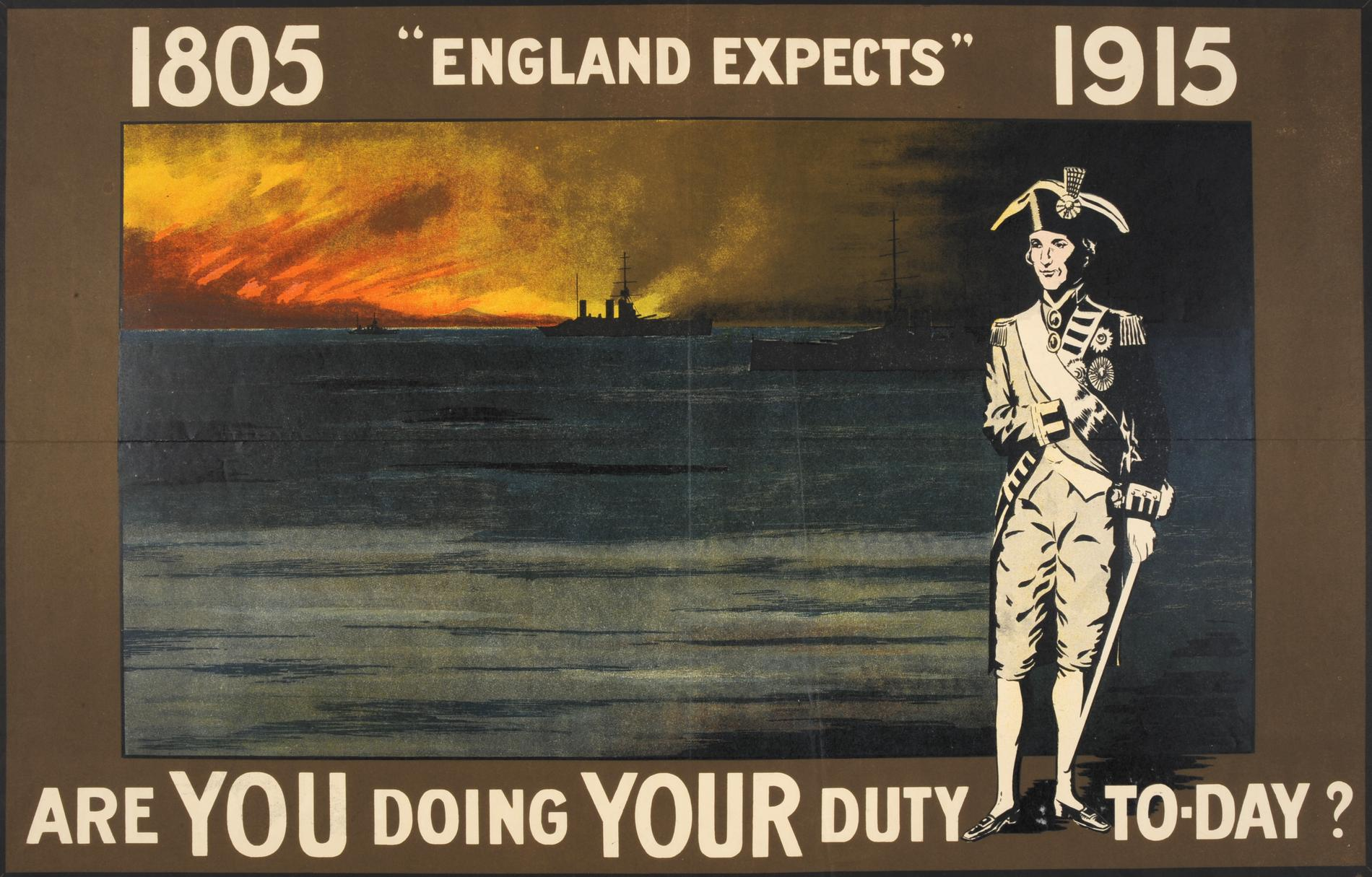 England Expects (Poster)