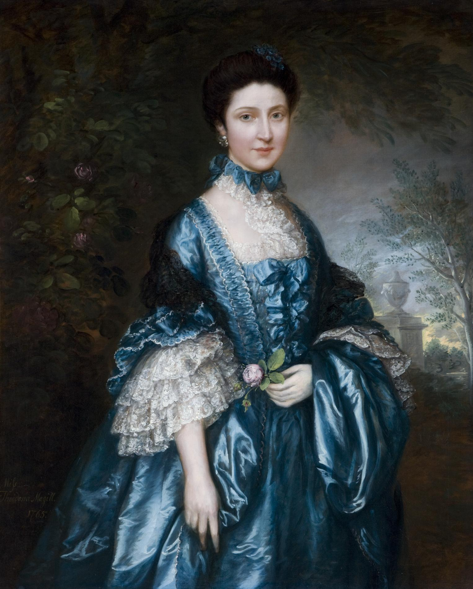 Miss Theodosia Magill (1744-1817), afterwards Countess of Clanwilliam 1765 (Painting)