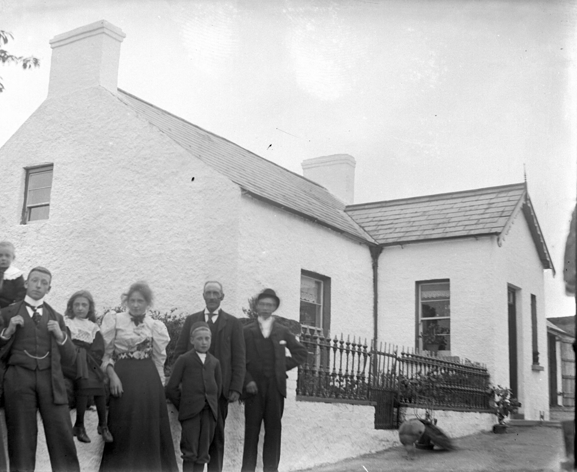 William John Wilson's house (photograph; glass plate negative)