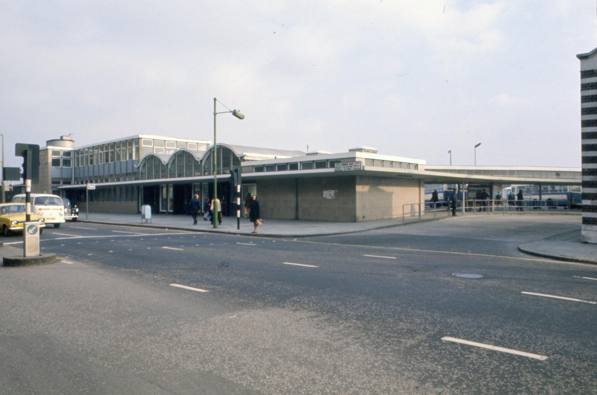 Industry Transport Oxford Street Bus Station Belfast (Photograph: Colour Transparency)